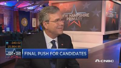 Jeb Bush: Rubio is a good guy, but I'm a leader