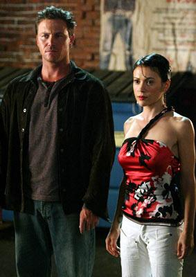 "Brian Krause and Alyssa Milano The WB's ""Charmed"" Charmed"