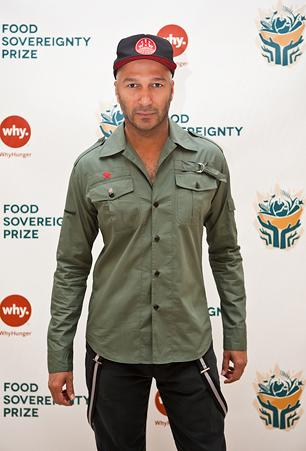 Tom Morello at Anti-Poverty Event: 'Hunger Is a Crime'
