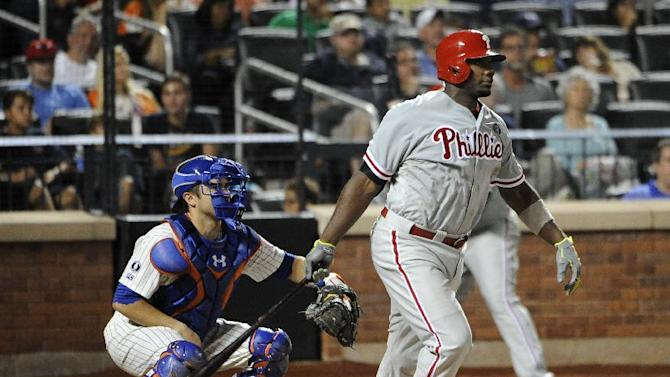 Byrd, Howard lead Phillies to 7-2 win over Mets