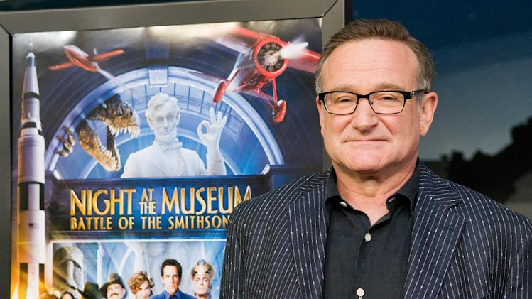 Night at the Museum 2 DC Premiere 2009 Robin Williams