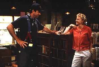 Tom Selleck and Ellen DeGeneres in The Love Letter