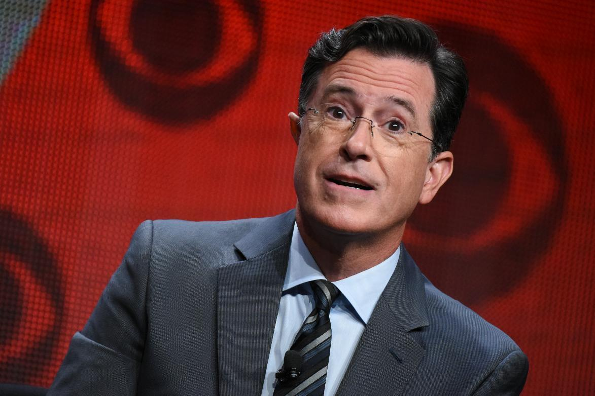 Unmasked, Stephen Colbert debuts Tuesday hosting 'Late Show'