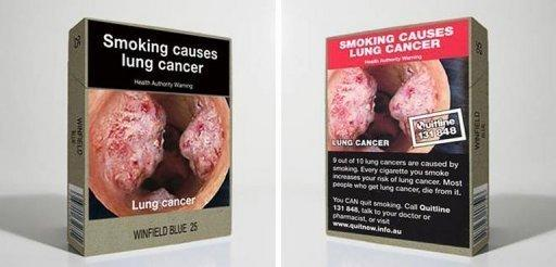 Tobacco products in Australia will now have to be sold in drab, uniform packaging with graphic health warnings