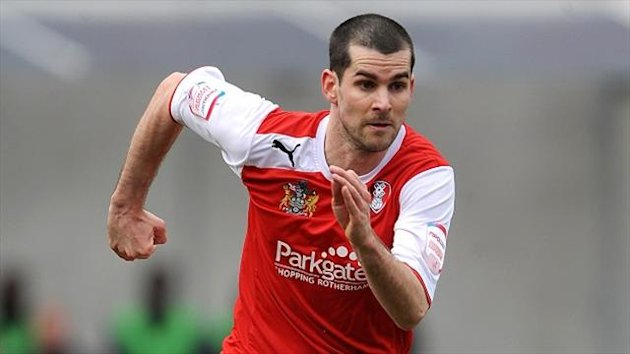 Daniel Nardiello suffered a hamstring injury in Rotherham's 1-0 friendly defeat to Huddersfield