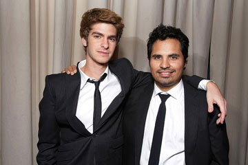 Andrew Garfield and Michael Pena at the AFI Fest opening night gala presentaion of United Artists' Lions for Lambs