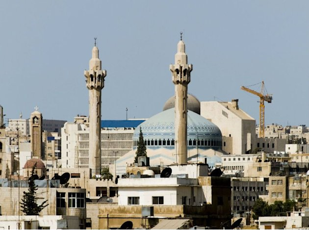 King Abdullah I Mosque in Amman, Jordan
