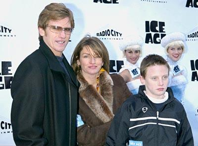 Premiere: Denis Leary and family at the Radio City Music Hall premiere of Ice Age - 3/10/2002