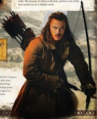 The Hobbit: Desolation of Smaug Annual: Bard the Bowman ready to shoot.