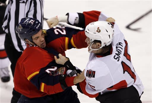 Anderson makes 42 saves in Sens' rout of Panthers