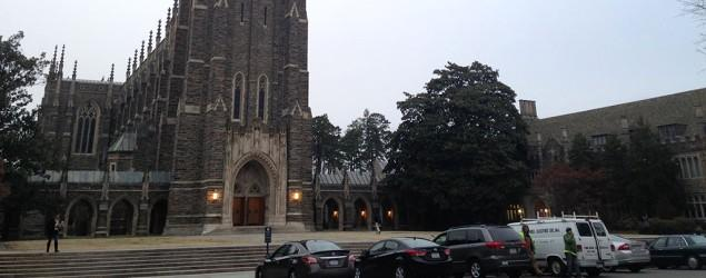 Noose found hanging from tree at Duke