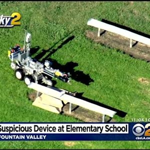 Fountain Valley Elementary School Closed After Suspicious Package Located