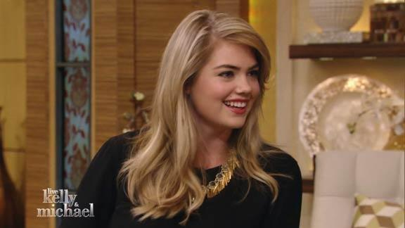 Kate Upton Nervous in Front of Camera