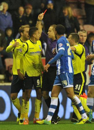 Soccer - Sky Bet Championship - Wigan Athletic v Birmingham City - DW Stadium
