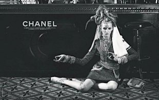 LOOK: Chanel's Pre-Fal 2012 Campaign Shot By Karl And Styled By Carine Roitfeld!