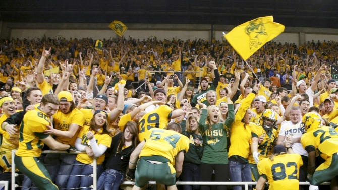 Bison's Craig Bohl is enjoying life atop FCS ranks