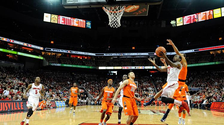 NCAA Basketball: Syracuse at Louisville