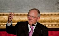 German Finance minister Wolfgang Schaeuble has said the European Central Bank was not financing sovereign debt with its newly-announced plan to buy sovereign bonds of struggling eurozone members