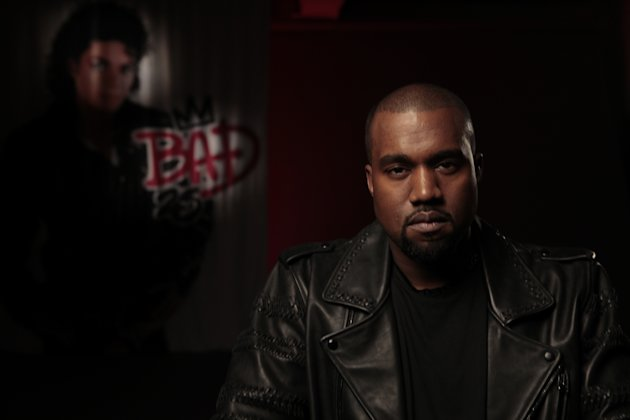 "This film image released by the Toronto International Film Festival shows Kanye West in a scene from the Spike Lee documentary ""Bad 25."" Lee's documentary ""Bad 25"" is playing the festival, marking the 25th anniversary of Jackson's 1987 album ""Bad."" The film features footage shot by Jackson himself along with interviews with such stars and music producers as Mariah Carey, Sheryl Crow and L.A. Reid. (AP Photo/Toronto International Film Festival)"