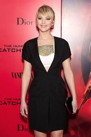 Jennifer Lawrence attends the 'Hunger Games: Catching Fire' New York premiere on November 20, 2013 in New York City  --