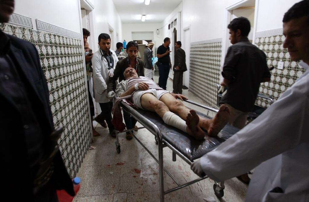 28 die in bombing of Yemen Shiite mosque claimed by IS