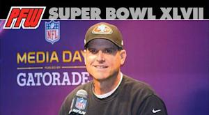 Jim Harbaugh: Much more than meets the eye