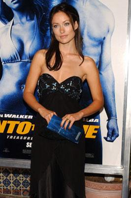 Olivia Wilde at the Westwood premiere of MGM/Columbia Pictures' Into the Blue
