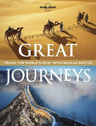 "This book cover image courtesy of Lonely Planet shows the cover of ""Great Journeys,"" by Lonely Planet Publications. Books with a travel theme _ whether practical, beautiful, inspirational or just a good read _ might make the perfect holiday gift this season. (AP Photo/Lonely Planet)"