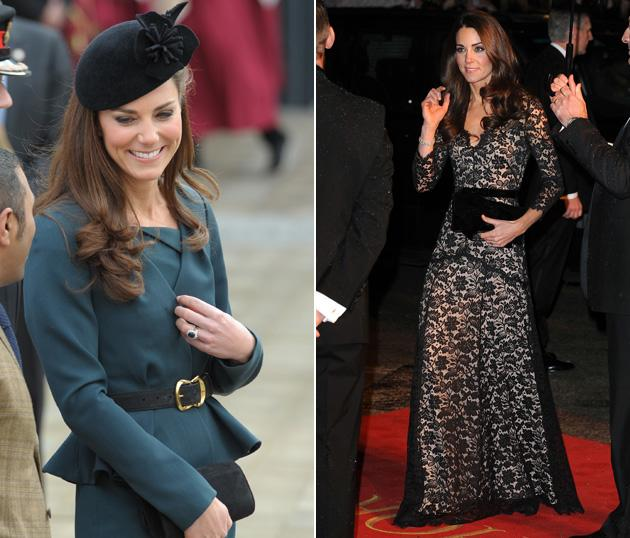 Best dressed celebrities 2012: Kate Middleton has never called upon the services of a stylist so it's pretty impressive that the Duchess always looks drop dead gorgeous at every event she turns up at.