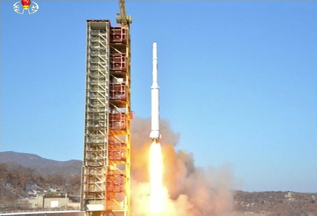 North Korea triggers fresh outrage with space rocket launch