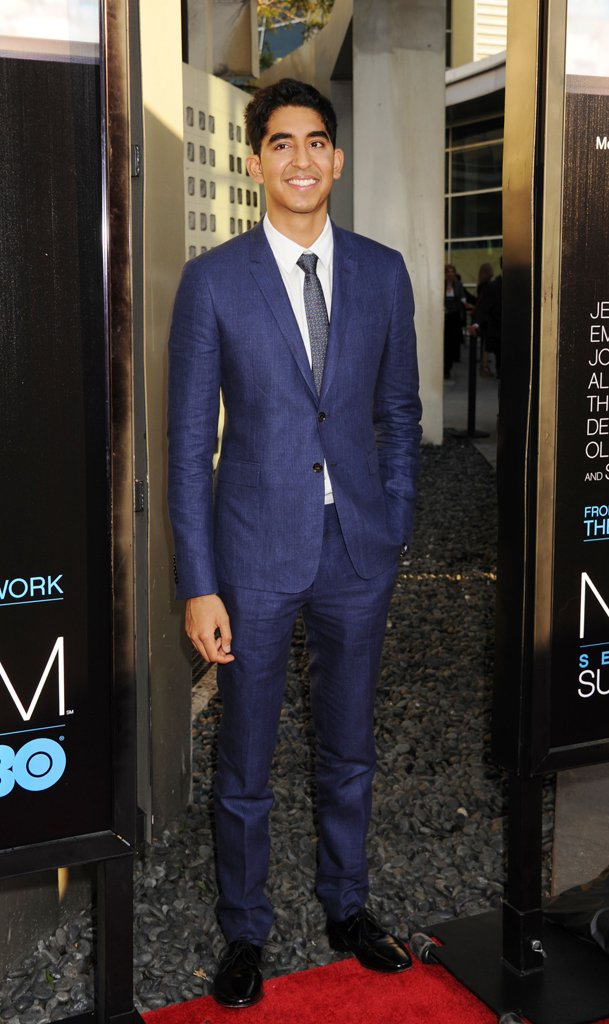 "Dev Patel at the LA premiere of HBO's ""The Newsroom"""