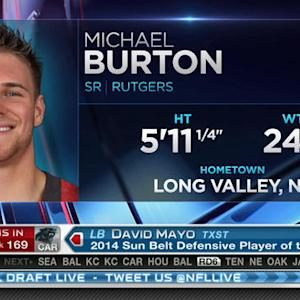 Detroit Lions pick fullback Michael Burton No. 168 in 2015 NFL Draft