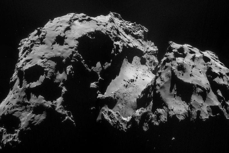 Comet 67P is brushing dirt off its shoulder as it moves closer to the Sun