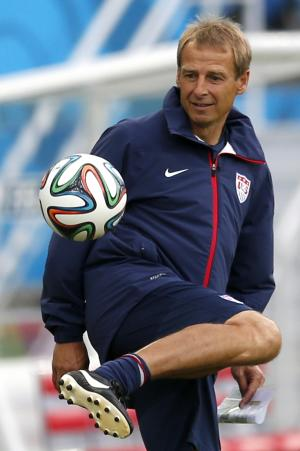 Klinsmann sounds more confident on eve of opener