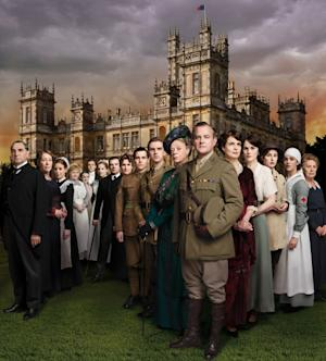 The cast of 'Downton Abbey' Season 2 -- Carnival Film/Television Limited for Masterpiece