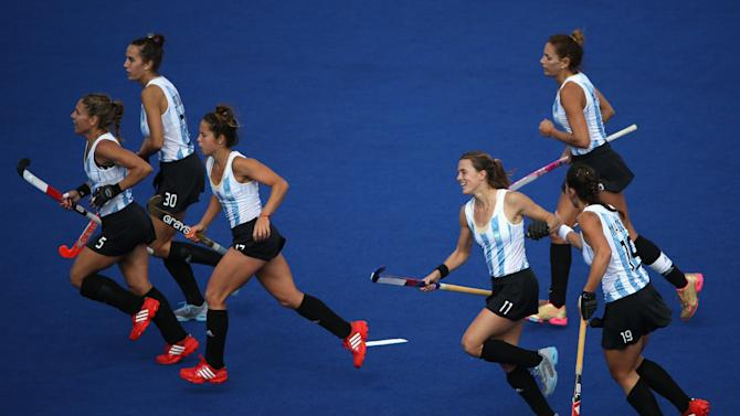 Olympics Day 2 - Hockey: Argentina v South Africa