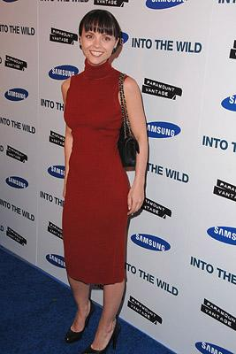 Christina Ricci at the Los Angeles premiere of Paramount Vantage's Into the Wild