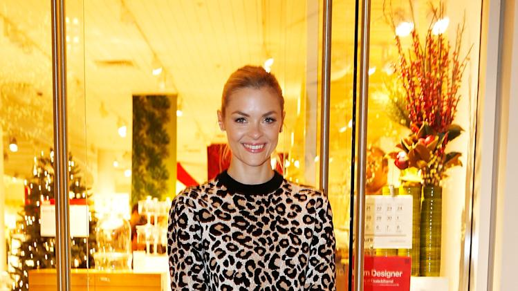 Jaime King Shops At Crate and Barrel Supporting Rebuilding Together