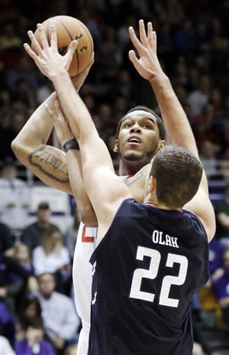 Smith leads No. 16 Ohio State past Wildcats, 63-53