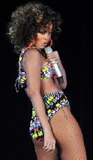 Rihanna performs at Hallenstadion in Zurich, Switzerland on November 7, 2011  -- Getty Premium