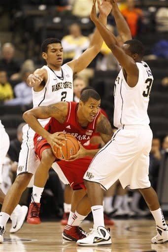 Nebraska beats Wake Forest 79-63