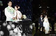 Photos from Jung Seok Won & Baek Ji Young's wedding ceremony revealed