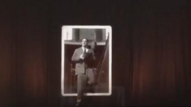 The NBA Brought James Naismith Back To Life With This Walking, Talking Life-Size Hologram