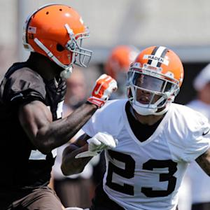 Live look-in at Cleveland Browns training camp