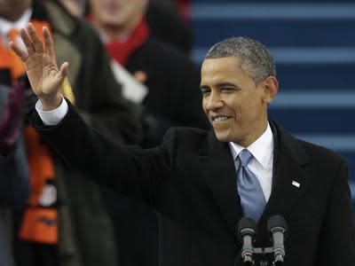 Obama Renews Oath for 2nd Term