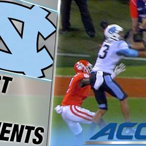 UNC's Mack Hollins Leaps For A Tar Heel Touchdown | ACC Must See Moment