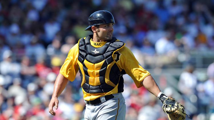 MLB: Spring Training-Pittsburgh Pirates at Boston Red Sox