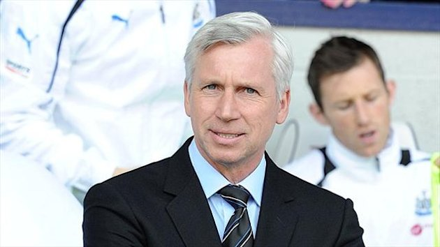Alan Pardew of Newcastle (PA Photos)