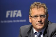 FIFA Secretary General Jerome Valcke is pictured in 2011. Brazil&#39;s faltering organisation of the 2014 World Cup came under fire from FIFA on Friday as the frustrated world governing body said things were just not working in the South American country