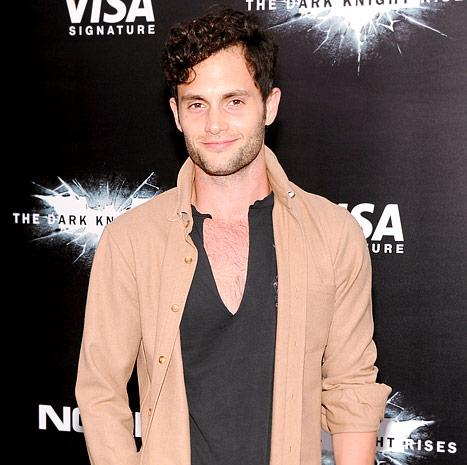 "Penn Badgley: I'm ""Genuinely Happy"" for Ex Blake Lively's Marriage to Ryan Reynolds"